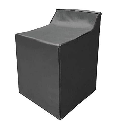 Machine À Laver Cover Home Decor Housses Lavage Capot De Protection Balcon Ménage Étanche Anti-poussière Antisolaires Sèche-linge Couvertures Protéger ( Color : Black , Specification : 74x74x101cm )