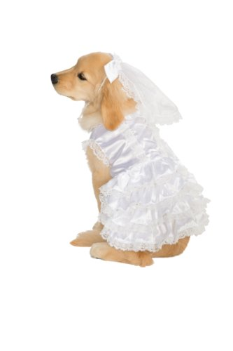 Rubie's Big Dog Bride Costume, Large - http://coolthings.us