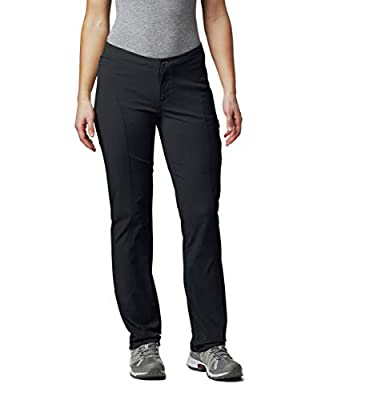 Columbia Women's Just Right Straight Leg Pant, Black, 6R