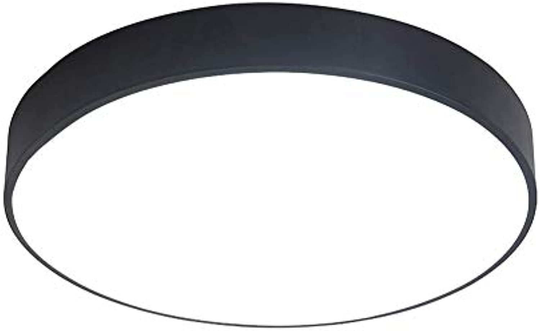 SGWH 12W LED-Unterputz-Deckenleuchte, 5cm ultradünne runde Deckenleuchte Fernbedienung Dimmen Deckenleuchte moderne minimalistische Wohnzimmer Schlafzimmer Licht