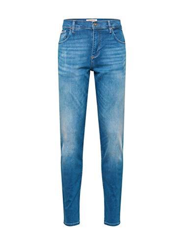 Lindbergh Herren Jeans Blue Denim 33