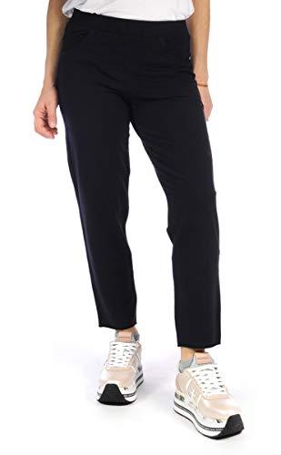 DEHA ABBIGLIAMENTO Pantalone Tuta Pantalone Slim Fit Donna Blu B24326 XS