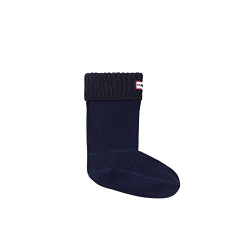 Hunter Damen Socken Mikrofaser Modisch Unifarben, Größe: M, Farbe: Blau
