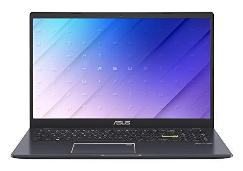 ASUS E510MA-EJ105T - Portátil 15.6' Full HD (Celeron N4020, 4GB RAM, 128GB eMMC, UHD Graphics 600, Windows 10 Home S) Azul Pavo Real - Teclado QWERTY español