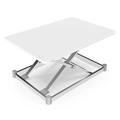 XuZeLii Laptop Stand Electric Laptop Lifting Platform Laptop Lifting Table Laptop Monitor Stand Height Adjustable Standing Desk Lifting Computer Desk Suitable for Office Work
