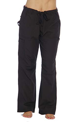 24000PBLK-M Just Love Women's Utility Scrub Pants / Scrubs, Black Utility, Medium