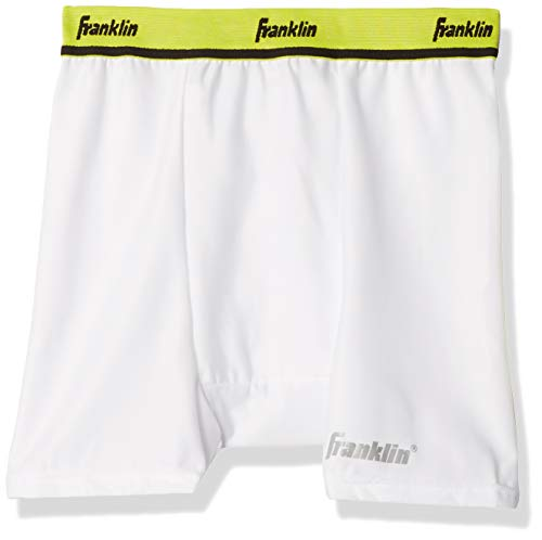 Franklin Sports Adult Compression Short With Cup- Large