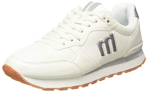 Mustang JOGGO, Zapatillas Deportivas Mujer, Blanco, 38 EU