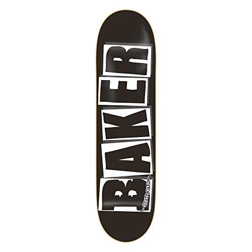 Baker Deck Brand Logo BLK/WHT, Black/White 8.2''