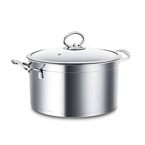 zyl Olla de Vapor Capacidad de Acero Inoxidable Vapor súper Grueso vaporizador de Sopa de Fondo Cocina hogar Juego de ollas de Vapor para cocinar Verduras Cocina Juego de ollas al Vapor