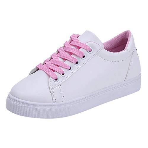 Damen Schuhe, Cramberdy Schuhe Damen Freizeit Halbschuhe Turnschuhe Damen Weiss Sneaker Schuhe Damen Sommer Schuhe Schwarz Weiß Damen Sportschuhe Damen Weiss Freizeitschuhe Damen Atmungsaktiv