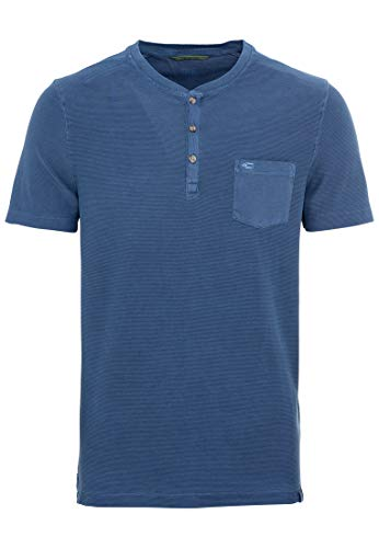 camel active Herren Halbarm T-Shirt, Dark Blue, XL