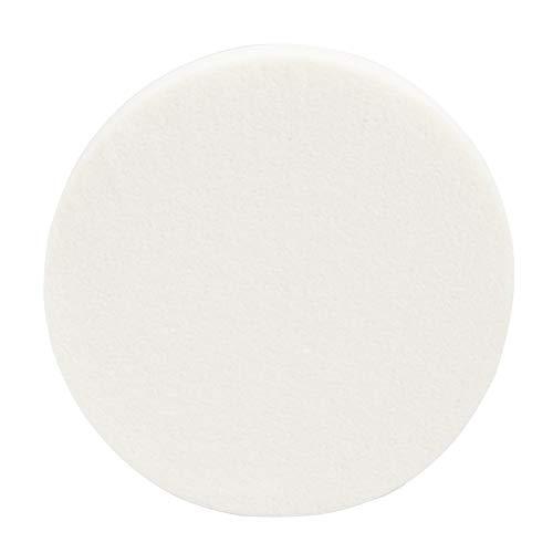 Lurrose 24pcs base de maquillage d'éponges de maquillage mélangeant le souffle de poudre d'éponge pour l'usage sec et humide (blanc)
