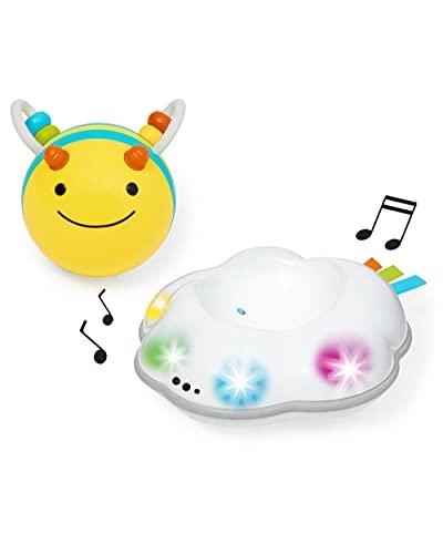SKIPHOP 5カ月から ハイハイの練習 光と音で刺激 ビー スパイラルトイ TYSH303108