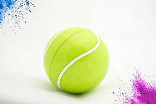Pelota de tennis chica de revelacion de genero/gender reveal tennis ball/con...