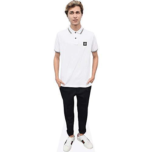 Celebrity Cutouts Lukas Rieger (White T-Shirt) Pappaufsteller Mini
