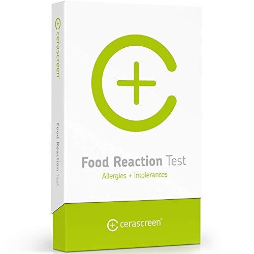 Kit para test de alergia alimentaria de CERASCREEN - Comprobar uno mismo alergias alimentarias e intolerancias alimentarias fácilmente | Laboratorio certificado | Informe de resultados detallado