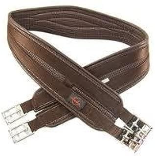 Brown All Sizes Kincade Anti-chafe Shaped Elastic Dressage Saddlery Girths