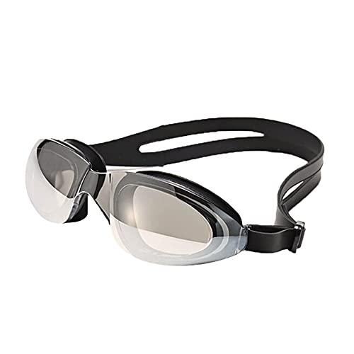 YNLRY Impermeable Profesional Anti-Niebla De Niebla Gafas Hombres Protección HD Gafas De Baño Gafas De Natación Optical (Color : Black)