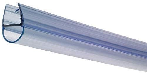 Croydex - Riel de Enganche para mampara de baño (se Ajusta a 4, 5 y 6 mm, para Paneles de 100 cm Grosor)