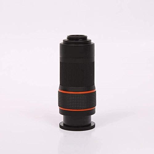 LXHJZ Binoculares telescopio 8 Veces telescópico un Solo Tubo Compacto/óptico Completo HD Pantalla Completa fotografía teléfono móvil