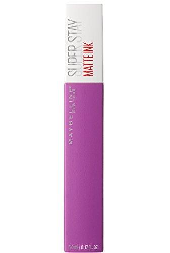 Maybelline New York Superstay Matte Ink Rossetto Matte Liquido Tinta Labbra a Lunga Tenuta, Confezione Singola, 35 Creator