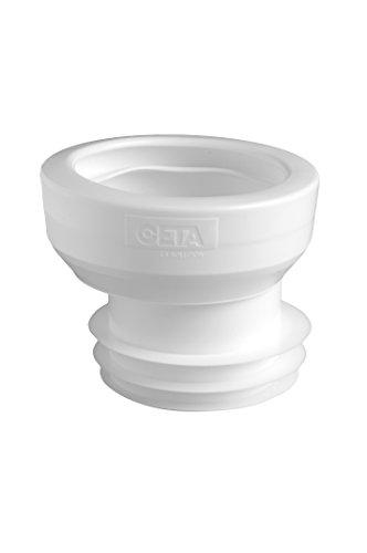 raccord pour wc - excentré n degrés8 - pour tube diamètre 100 / 110 mm côté mâle - ceta 214-008