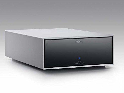 Revox Joy S118 Audio Netzwerk Receiver   Modell: S120   Farbe: Silber/Schwarz   Leistung: 2 x 120 W RMS an 8 Ohm