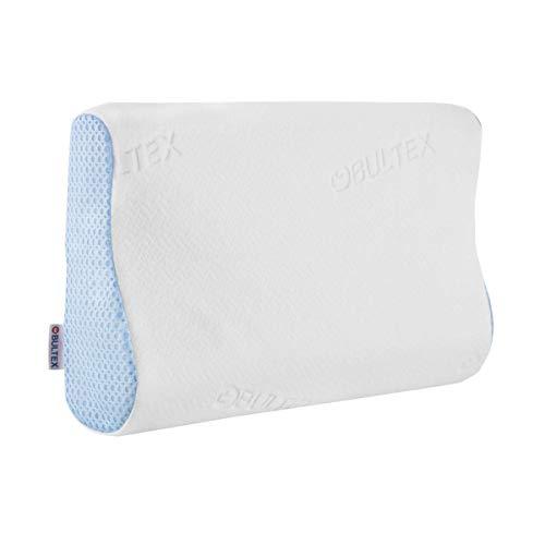 Bultex Oreiller Ergonomique Confort Ergo 33x52 en Mousse - Blanc