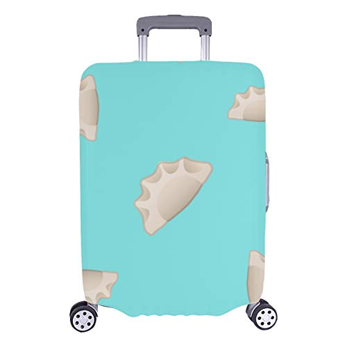 Hard Cover Baggage Dumplings Delicate Compact Durable Washable Protecor Cover Fits 28.5 X 20.5 Inch Girly Luggage Cover Best Luggage Cover Luggage Cover For Kids