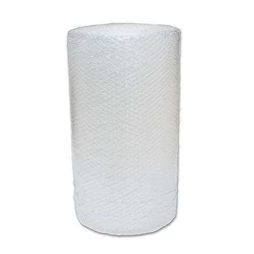 Beufirst Papel burbuja. Rollo de papel de burbuja de 0,50mt de ancho x 25mt de largo (0,5mt x 25mt). Alta protección para mudanzas, embalajes, transporte y productos frágiles