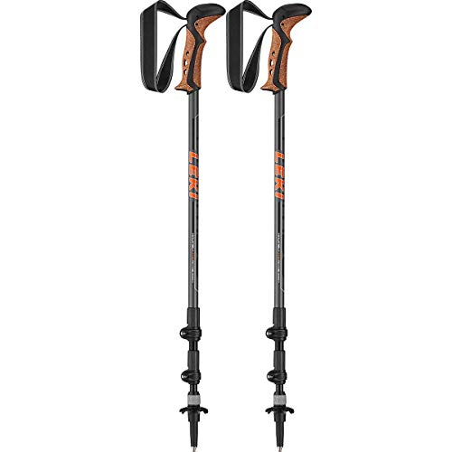 LEKI Khumbu Lite AS Wanderstöcke, Grey/orange