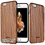 NeWisdom iPhone 6s Case Wood,iPhone 6 case Wood, Non Slip Thin Slim Unique Designed Cover - Sandal