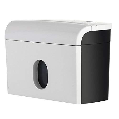 N / E Hochsicherheits-Aktenvernichter aus mikrogeschnittenem Papier und Kreditkarten, Messerschneider aus gehärtetem nitriertem Stahl und 3,5-l-Abfallbehälter