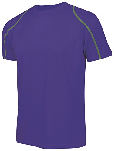 Asioka 375/16 Camiseta de Running, Unisex Adulto, Lila, L