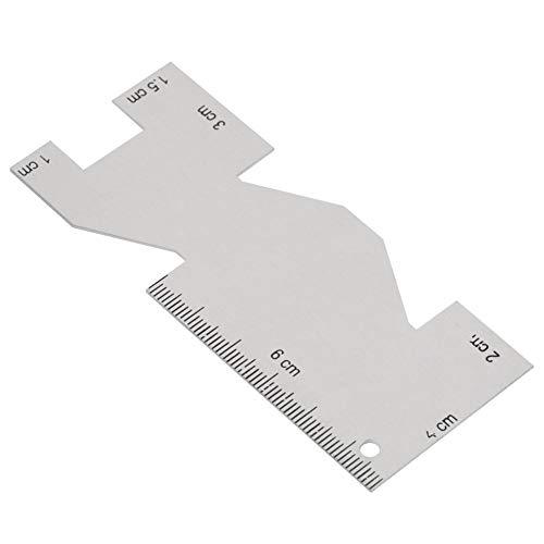 Metall Nähen Ruler - Quilting Lineal Nähen Werkzeug Zubehör for Nähen Handwerk (Splitter)