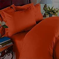 Elegant Comfort 1800 Thread Count - Wrinkle Resistant - Egyptian Quality Ultra Soft Luxurious 4 pcs Bed Sheet Set, Deep Pocket Up to 16