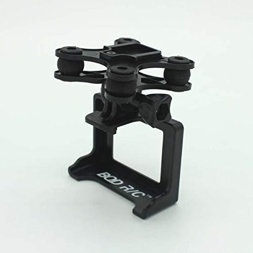 Sunnyflowk RC Drone Set di supporti per telecamera snodabile per SYMA X8 X8C X8W X8G X8HC X8HW X8HG Supporto Gimbal RC Quadcopter Drone Pezzi di ricambio (nero)