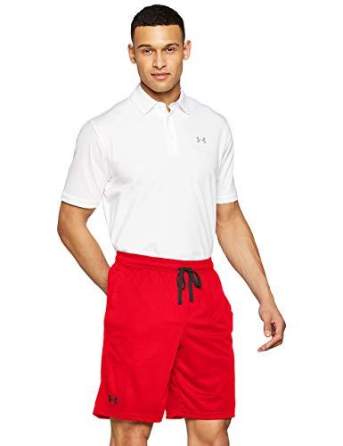 Under Armour UA Tech Mesh Short, Pantaloni Corti Uomo, Rosso (Red/Black 600), XL