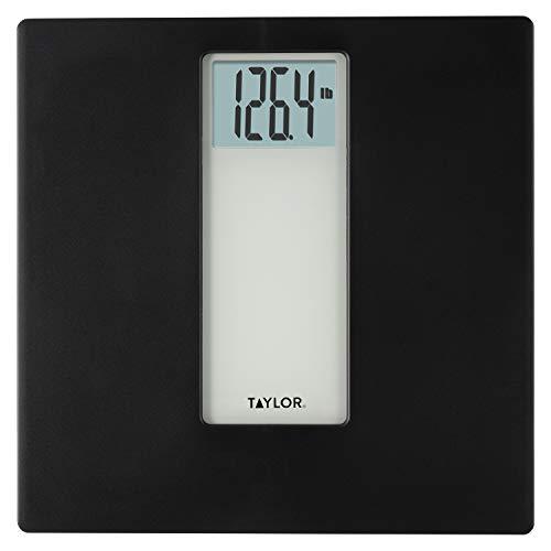 Taylor Precision Products - Báscula digital de baño (capacidad de 400 libras), color azul