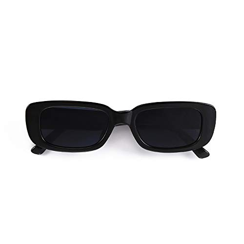 BOJOD Rectangle Sunglasses for Women Men Fashion Trendy...