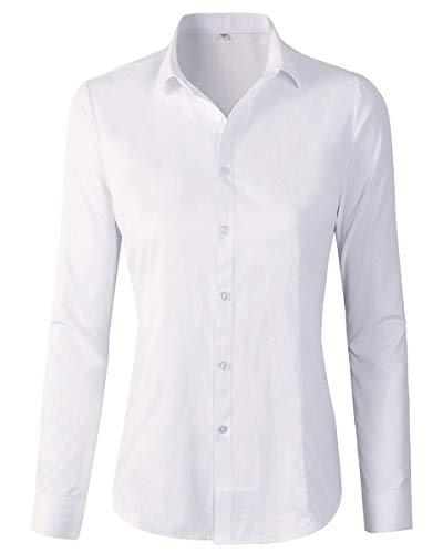 Women Button Down Long Sleeve Shirt