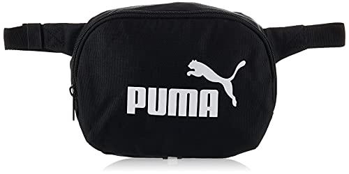 PUMA Phase Waist Bag Riñonera, Unisex-Adult, Black, OSFA