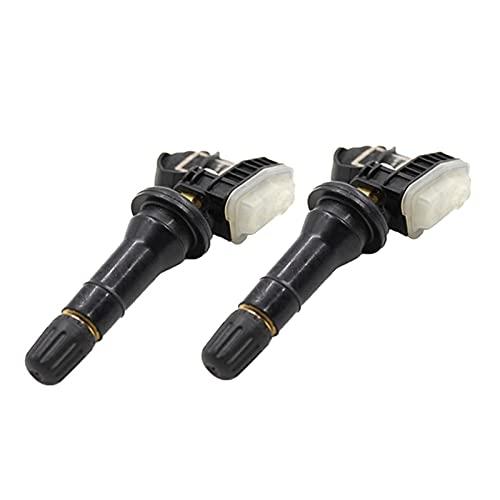 XIAOFANG Autodrucksensor TPMS Sensor Reifen Luftdrucksensor Fit für Buicke Cadillac Fit für Chevrolet Fit für Hummer 13598771 13598772 (Color : Black)