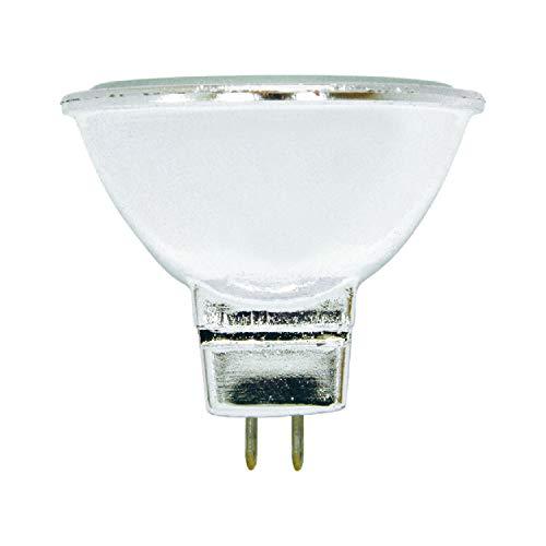 GE Halogen Light Bulb, MR16 Flood Light Bulb, 50-Watt, 890 Lumen, 2-Pin Base GU5.3, Warm White, 3-Pack, Indoor and Outdoor Flood Light Bulb