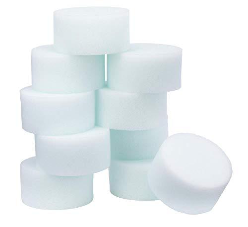 Snazaroo - Esponja de alta densidad para pintura facial, pack de 10