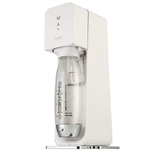 LLC- SUDA Sparkling Water Maker, Gemakkelijk Fizzy Drank voor Thuis/Kantoor/Feest, Premium Carbonator mousserende water Maker, met een 1L fles zonder BRA, Carbonator niet inbegrepen
