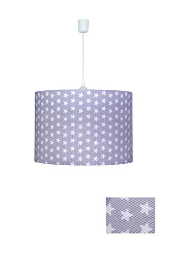 Waldi Leuchten WAL-70627.0 Lampe suspendue, E27, Gris, H 25 cm, Ø 34 cm