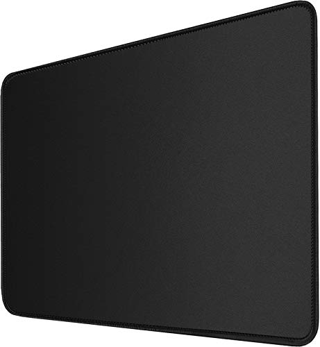 Mouse Pad, Upgraded 30% Larger Mouse pad with Durable Stitched Edges, Waterproof Mousepad, Nonslip Natural Rubber Base Mouse pad for Gaming Computer, Laptop, Office, Home, 11.8 x 9.8 x 0.12 in