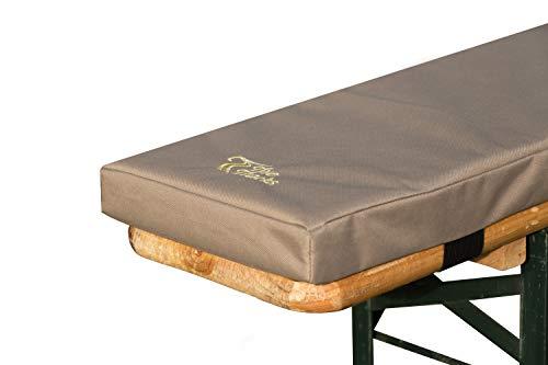TwoTracks Bierbankauflage BiBa Comfort 5cm 2er Set - 220 x 25 x 5cm